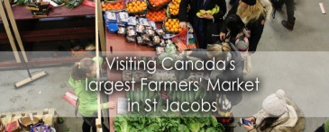 Visiting Canadas Largest Farmers Market in St Jacobs - Lets Discover On Travel Blog
