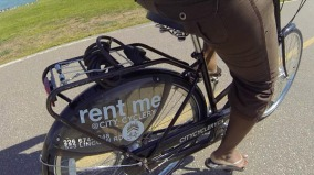 Bike rentals from City Cyclery