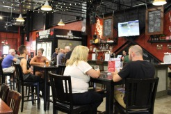 The tasting room at Walkerville Brewery