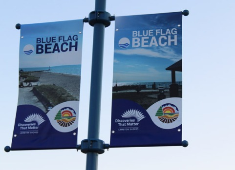 Grand Bend is 1 of 26 high water quality beaches in Canada.