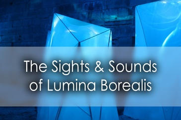 The sights and sounds of Lumina Borealis at Fort Henry in Kingston - Lets Discover ON Travel Blog
