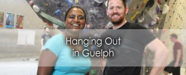 Hanging out with Matt Fudge in Guelph - Lets Discover ON Travel Blog
