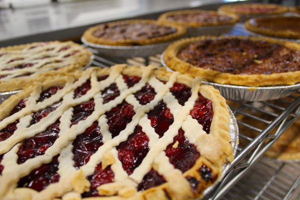 Imagine a place where they make almost 1,000 pies per day