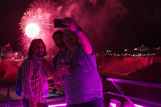 TIAO-ontario-tourism-summit-7-niagara-falls-fireworks-with-marc-smith-and-adriano-ciotoli