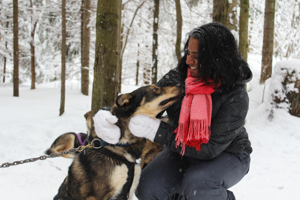Winter-fun-with-Lets-Discover-ON-dogsledding---Petula-and-dog