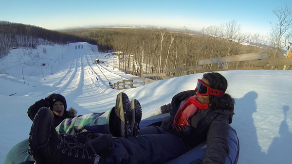 Winter-fun-with-Lets-Discover-ON---snowtubing-downhill