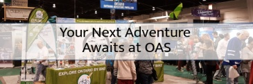 Checking out new outdoor adventures at OAS 2018 in Toronto