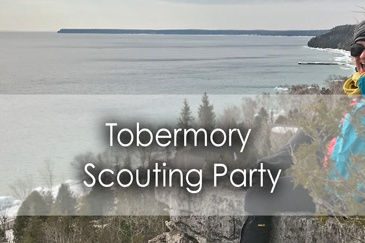 Tobermory-Scouting-Party in the Bruce Peninsula - Guest-Post - Lets-Discover-ON-Travel-Blog