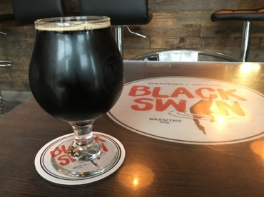 Lets-Discover-ON---stratford-chocolate-trail---black-swan-brewing-co-porter-with-cacoa-nibs