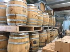 Lets-Discover-ON---stratford-chocolate-trail---junction-56-distillery-barrels