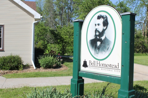 Brantford-Paris-Bell-Homestead-sign-Lets-Discover-ON