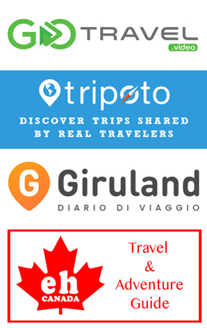 Let's Discover ON Travel Blog is featured on: GoTravel.video, Tripoto, Giruland and Eh Canada
