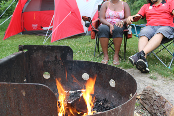 Learn-to-Camp-petula-tony-campfire--Lets-Discover-ON