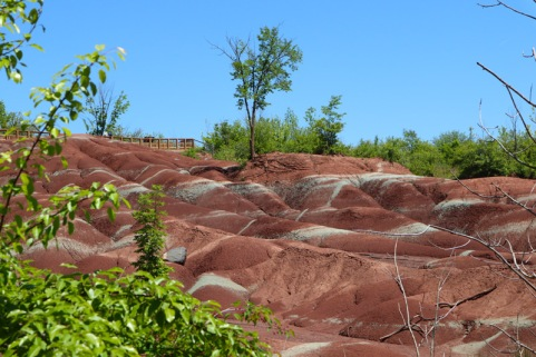 Cheltenham-Badlands---queenston-shale-2---lets-discover-on