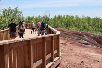 Cheltenham-Badlands---viewing-platform---lets-discover-on